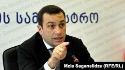 Грузия қорғаныс министрі Ираклий Аласания.
