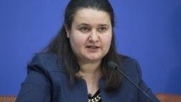 Виконувачка обов'язків міністра фінансів України Оксана Маркарова