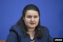 Оксана Маркарова у квітні 2018-го