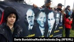 Вшанування борців за волю України біля урочища Холодний Яр. Село Медведівка Черкаської області, 21 квітня 2013 року