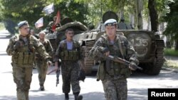 Проросійські сепаратисти на Донбасі, архівне фото