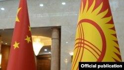 Кытай менен Кыргызстандын туулары.