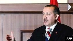 رجب طیب اردوغان می گوید رشد اقتصادی و صنعت بانکداری خصوصی در ترکيه معلول رشد سياسی و دمکراسی در اين کشوراست