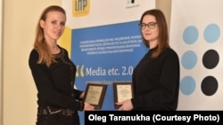 RFE/RL received two awards at «Media etc. 2.0» in Kyiv, Ukraine, on 5 February, 2018