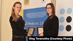 RFE/RL received two awards at «Media etc. 2.0» in Kyiv, Ukraine, on 5 February, 2018