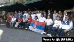 Doček paraolimpijaca u Beogradu