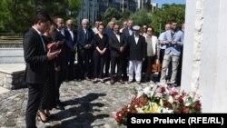 Obilježavanje Dana sjećanja na žrtve Srebrenice u Pogorici