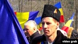 Мітинг у столиці Молдови Кишиневі з нагоди сторіччя об'єднання Бессарабії й Румунії, 25 березня 2018 року
