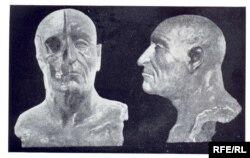 Ярослав Мудрый. Реконструкция внешности по черепу, проведенная М.Герасимовым в 1939 году