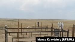 Кладбище для захоронения умерших от коронавируса. Алматинская область, село Караой, 16 июня 2020 года.