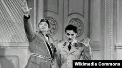 Böyük diktator filmindən fraqment