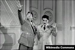 """Кадр из фильма """"Великий диктатор"""", 1940"""