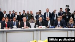 Делегация Армения на саммите ОДКБ, Астана, 8 ноября 2018 г․