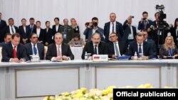 Делегация в Армении на саммите ОДКБ в Астане, 8 ноября 2018 г․