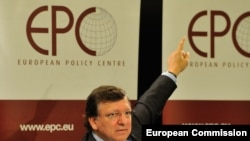 "European Commission President Jose Manuel Barroso said what's needed are ""a banking union, a fiscal union, and further steps towards a political union."""