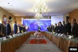 یکی از جلسات مذاکره هیئت اوکراینی با هیئت ایرانی، تهران، ۲۸ مهر ۹۹