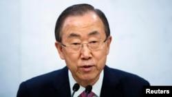 Sekretari i përgjithshëm i Kombeve të Bashkuara, Ban Ki-moon.