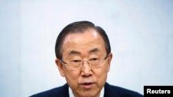 Генералниот секретар на ОН, Бан Ки-мун.