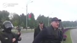 Белоруссера протесташ а, автоматаца лела Лукашенко Александр а