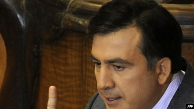 "Georgian President Mikheil Saakashvili: ""We certainly have to leave..."""