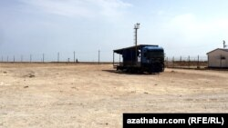 Türkmenistanyň we Gazagystanyň arasyndaky serhet