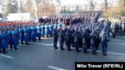 Ove godine jedan ešalon policije koračao je obučen u uniforme srpske vojske iz Prvog svjetskog rata