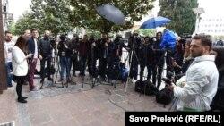 Predstavnici medija u Crnoj Gori