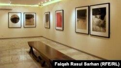 جانب من معرض الفنان محمد الشمري