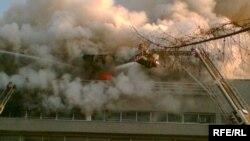 Пожары на улице Правды случались, но такого еще не было