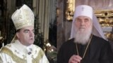 Kardinal Josip Bozanić i patrijarh Irinej