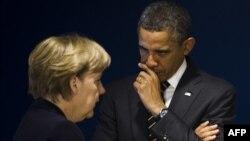Angela Merkel və Barack Obama