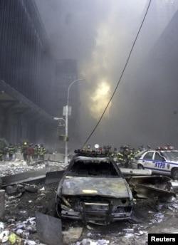 Nyu York 11 sentyabr terrorundan sonra