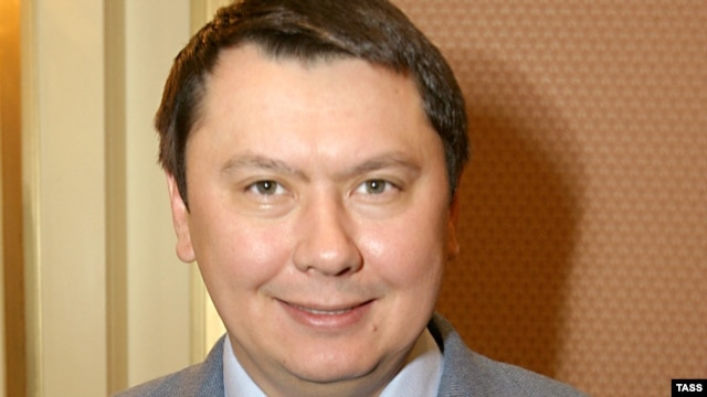 Rakhat Aliev, the former son-in-law of Kazakh President Nursultan Nazarbaev.