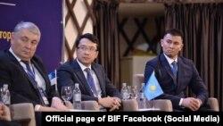 Участники Бишкекского инвестиционного форума, 6 декабря 2017 г.