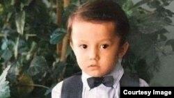 Димаш Кудайберген в детстве.