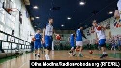 Тренування збірної України з баскетболу, 18 лютого 2020 року