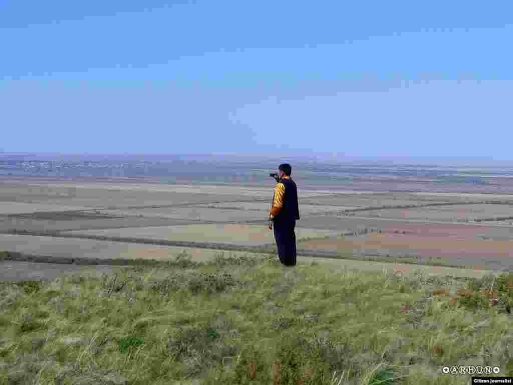 Моя необъятная земля. Вблизи озера Алаколь. Прислал Arhun.
