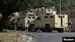 متعاقدون أمنيون في بغداد في 6/6/2011