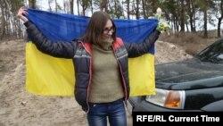 Мария Варфоломеева после освобождения из плена