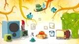 Stop cadru, secvența de început a jocului Chucel, Amanita Design, 2008