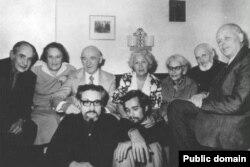 Софья Калистратова с соратниками по правозащитному движению