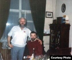 Петр Вайль (слева) и Григорий Горин