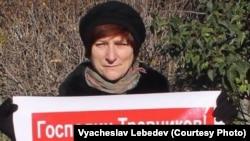 Обманутые дольщики протестуют в центре Новосибирска