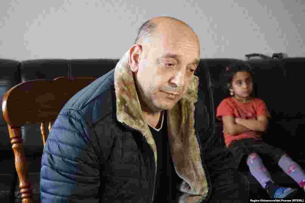 Глава цыганской общины Янош Кальдарас
