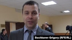 Jailed Russian blogger Sergei Reznik (file photo)