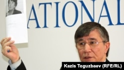 Оппозиционный политик Жасарал Куанышалин. Алматы, 12 декабря 2011 года.