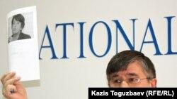 Оппозициялық саясаткер Жасарал Қуанышәлин. Алматы, 12 желтоқсан 2011 жыл.
