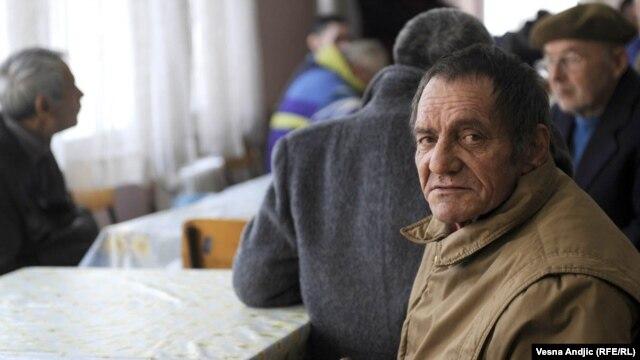 Iz skloništa za beskućnike u Beogradu, 2011.