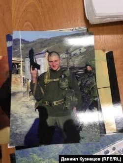 Фото Василия Кудричева, которое хранится у заведующей Музеем воинской славы ярославцев – защитников Родины
