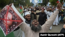 Protests against the acquittal were held across Pakistan.